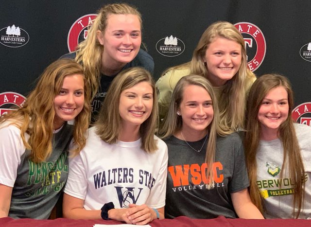All Six Tate High Volleyball Seniors Sign To Play At Collegiate Level